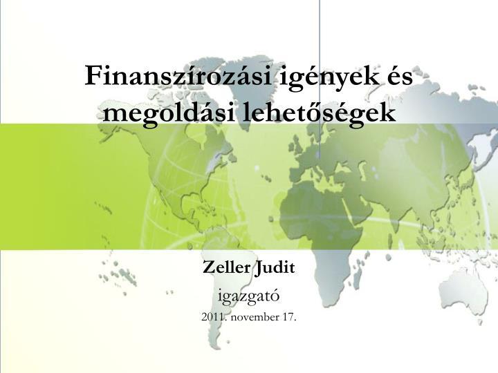 Finanszírozási
