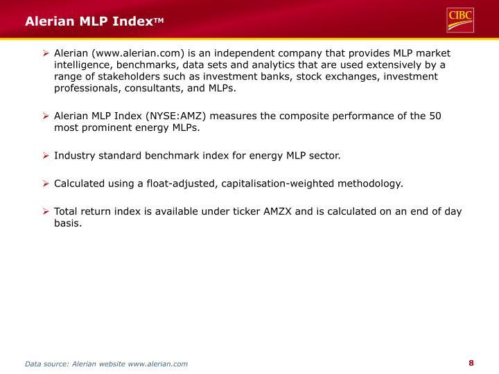 Alerian MLP Index
