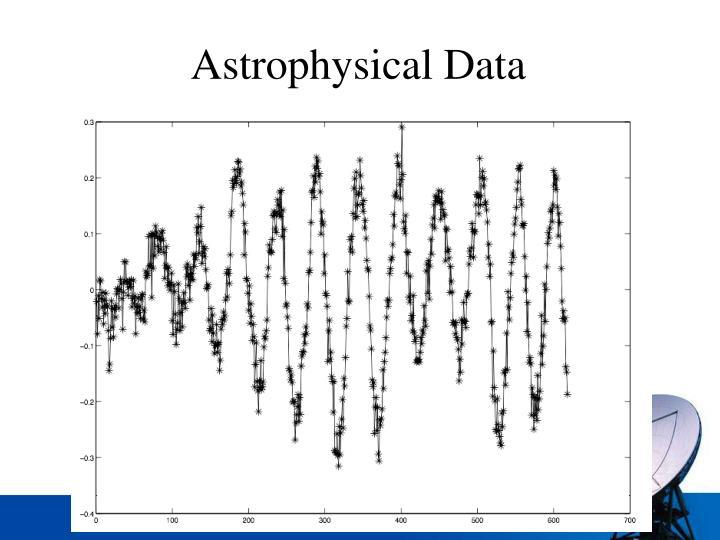 Astrophysical Data