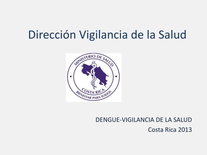 Dirección Vigilancia de la Salud