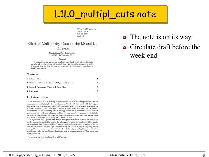 L1L0_multipl_cuts note
