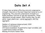 data set a2