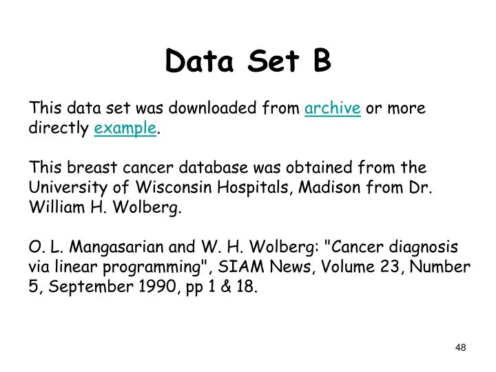 This data set was downloaded from
