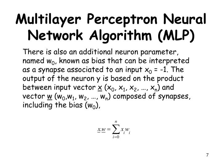 There is also an additional neuron parameter, named w