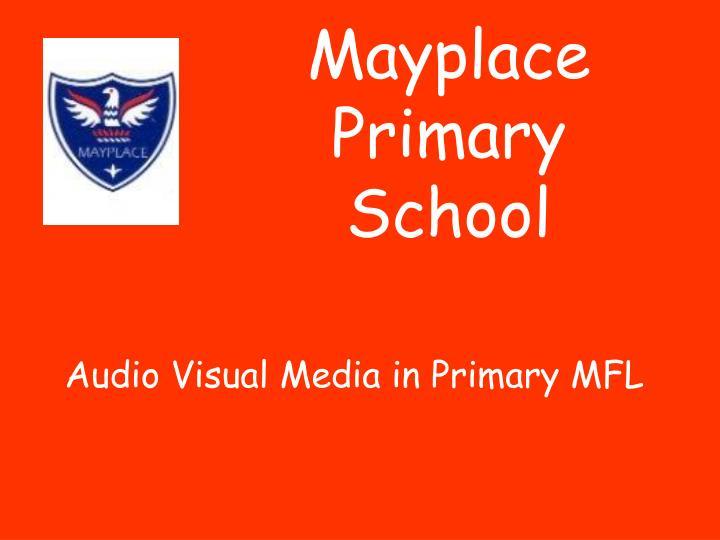 Mayplace Primary School