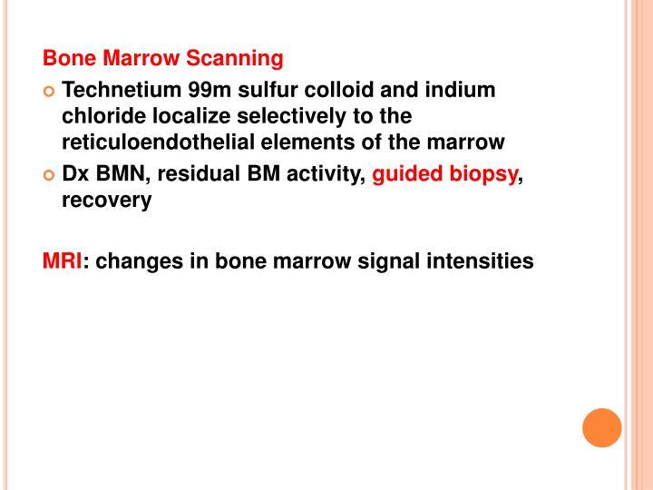 Bone Marrow Scanning