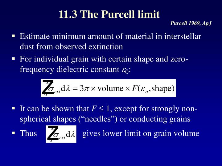 11.3 The Purcell limit