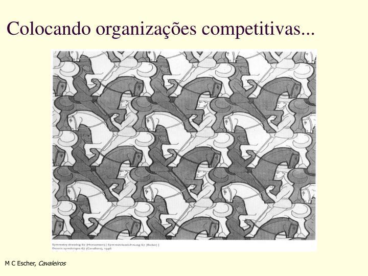 Colocando organizações competitivas...