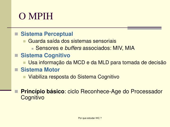 Sistema Perceptual
