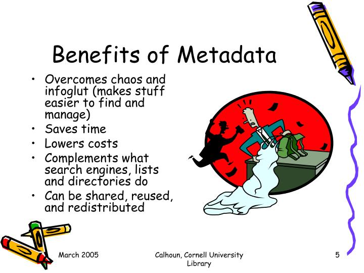 Benefits of Metadata