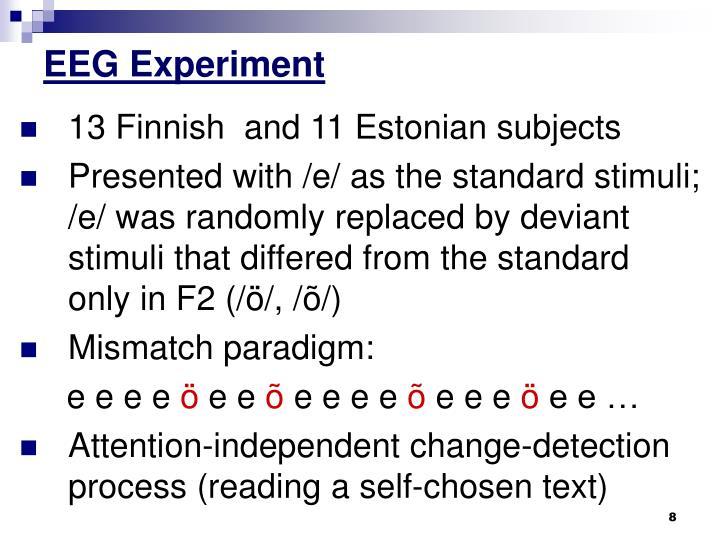 EEG Experiment