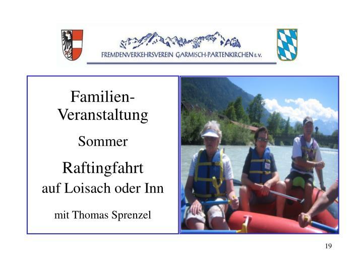 Familien-Veranstaltung