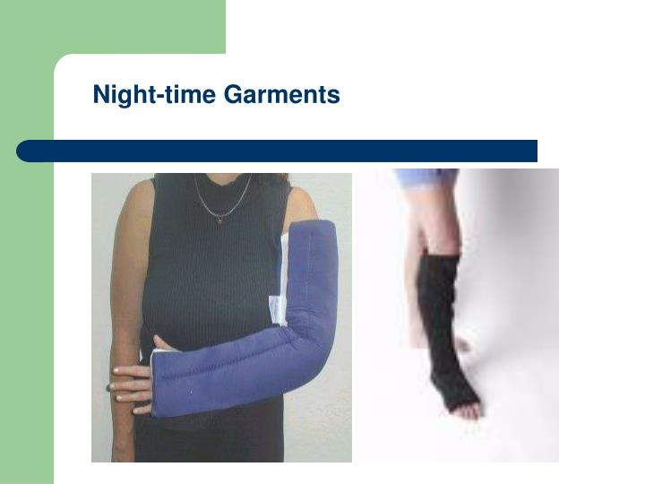 Night-time Garments