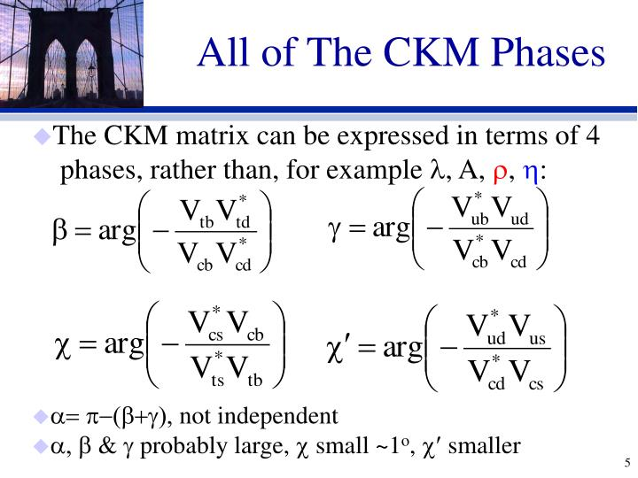 All of The CKM Phases