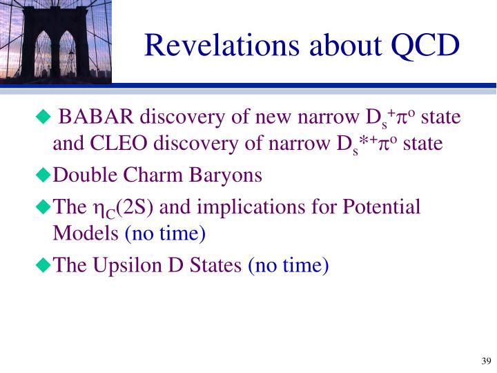 Revelations about QCD