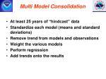 multi model consolidation
