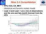 nino 3 4 consolidation