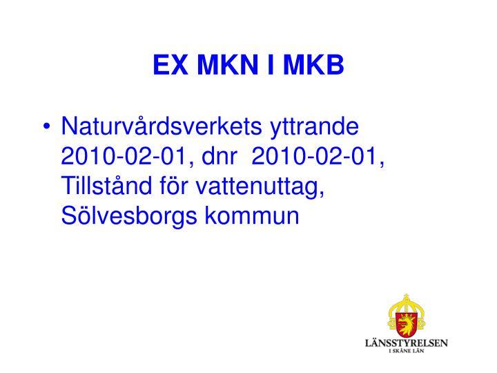 EX MKN I MKB