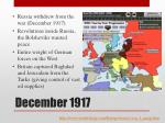 december 1917