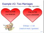 example 2 two marriages