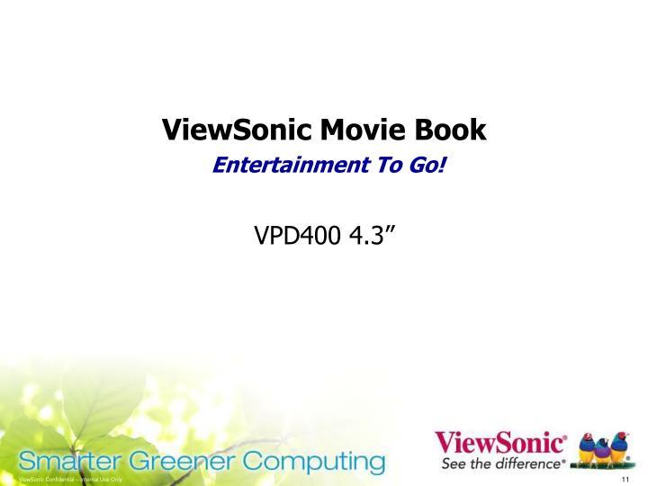 ViewSonic Movie Book
