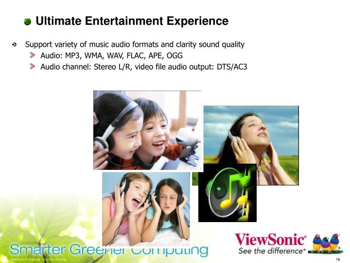 Ultimate Entertainment Experience