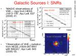 galactic sources i snrs