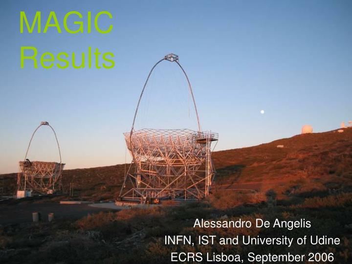 magic results
