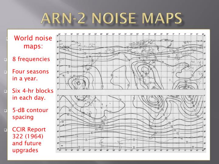 ARN-2 Noise Maps