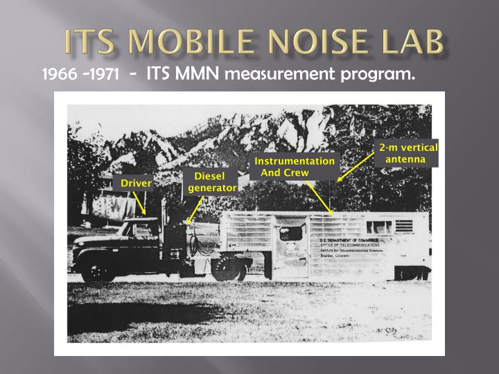 ITS Mobile noise Lab