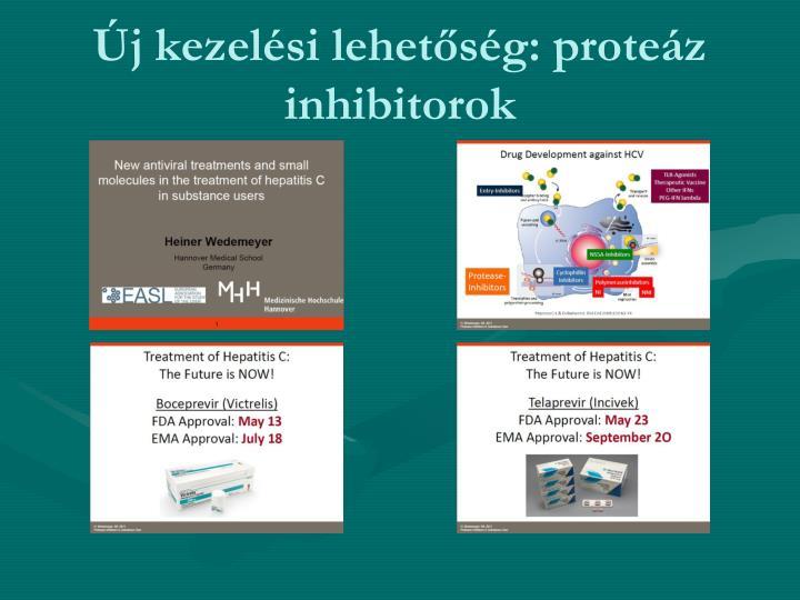 Új kezelési lehetőség: proteáz inhibitorok