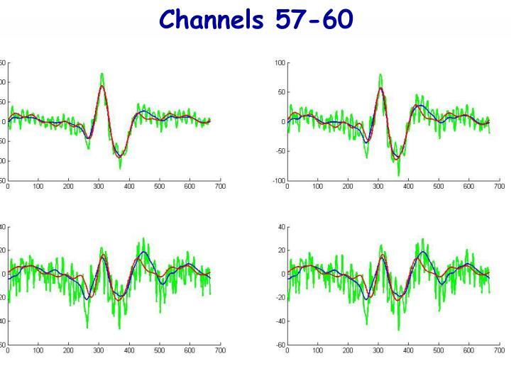Channels 57-60