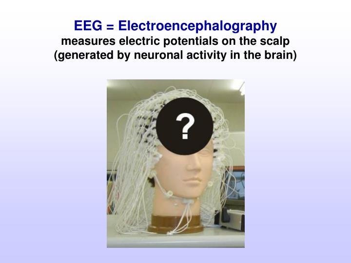 EEG = Electroencephalography