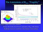 the limitations of r aa fragility