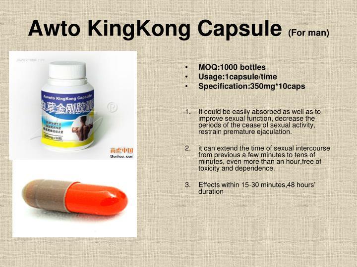 Awto KingKong Capsule