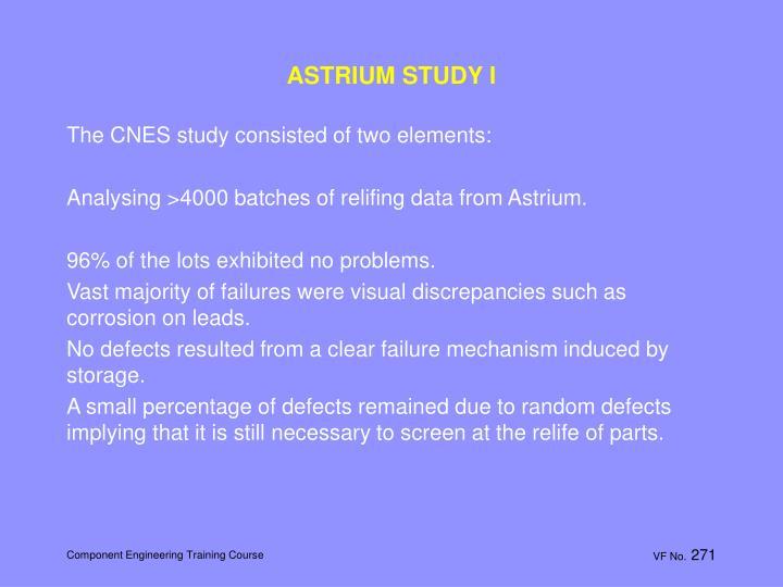 ASTRIUM STUDY I