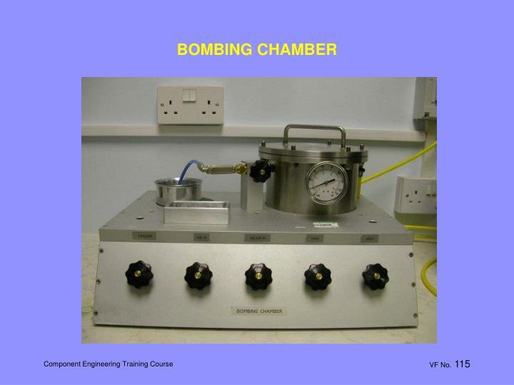 BOMBING CHAMBER