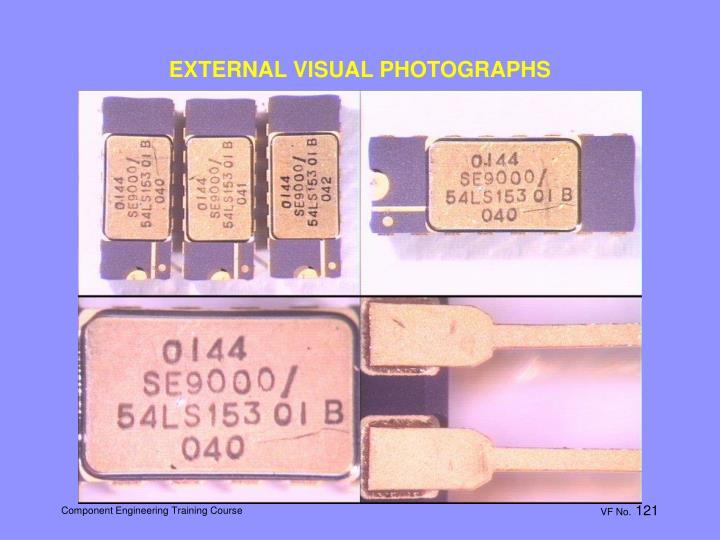 EXTERNAL VISUAL PHOTOGRAPHS