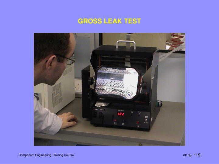 GROSS LEAK TEST