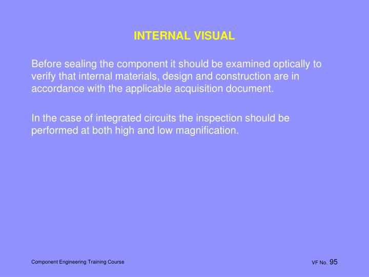 INTERNAL VISUAL