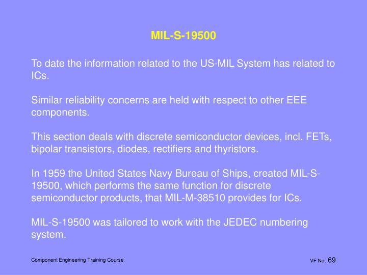 MIL-S-19500