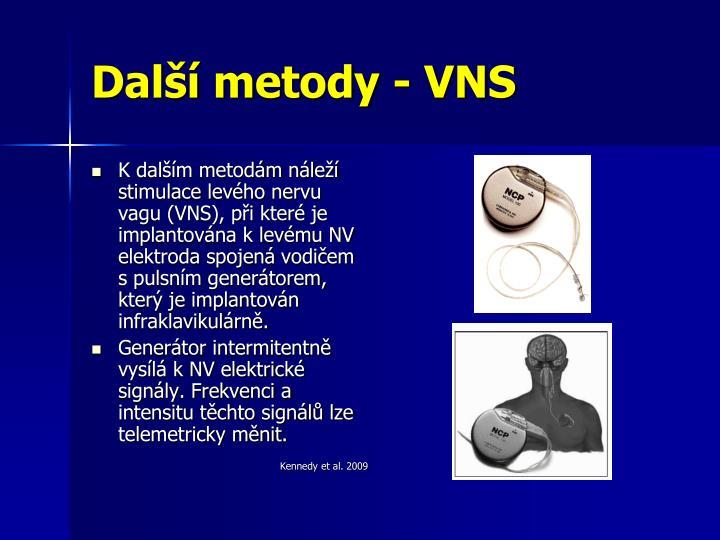 Další metody - VNS