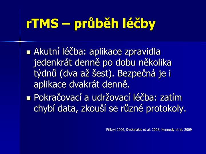 rTMS – průběh léčby