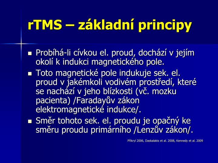 rTMS – základní principy