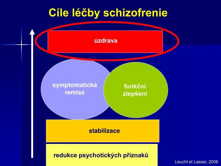 Cíle léčby schizofrenie