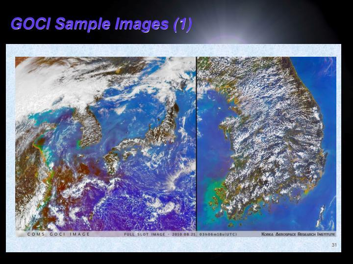 GOCI Sample Images (1)