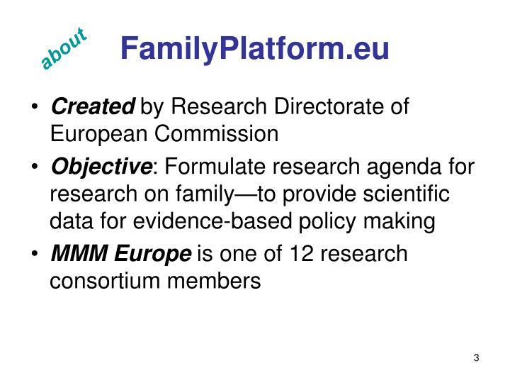 FamilyPlatform.eu