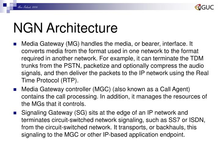 NGN Architecture