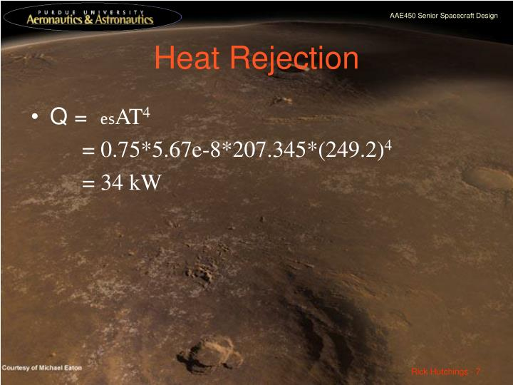 Heat Rejection