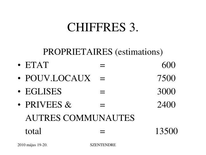 CHIFFRES 3.